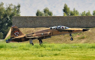 Jet Tempur F-5B AU Iran (IRIAF)