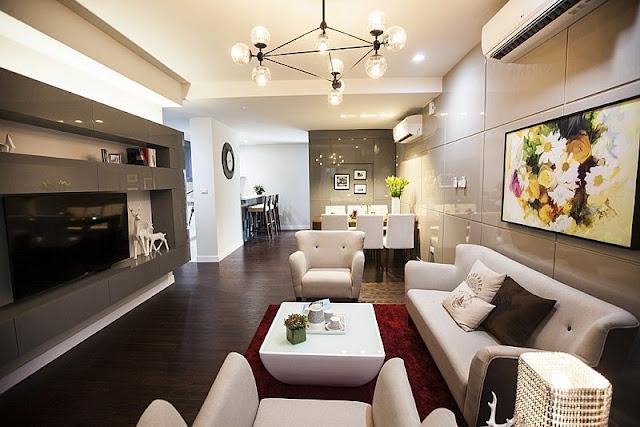 Thiết kế nội thất căn hộChung cư Goldsilk Complex