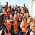 Agentes mirins de Defesa Civil visitam a Prefeitura de Blumenau