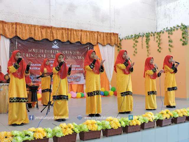 Keputusan Penuh Majlis Ihtifal KAFA 2016 Peringkat Daerah Kuantan
