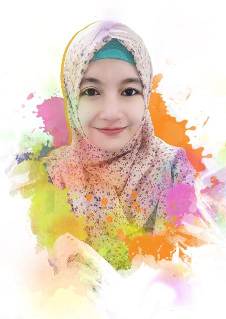 Photo Painting Putri Indah