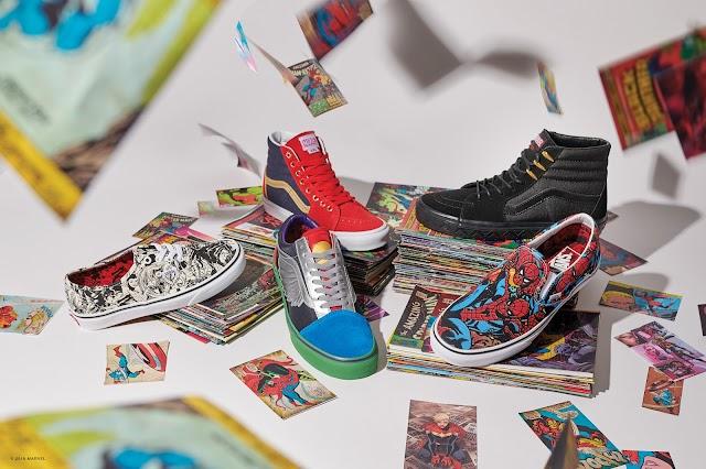 Vans lança coleção em parceria com a Marvel