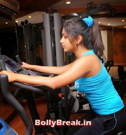 hot amala paul photos, Amala Paul - Tollywood Actress Hot Gym Pics