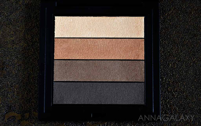Теплые оттенки Gosh Smokey Eyes Palette 02 brown палетка теней