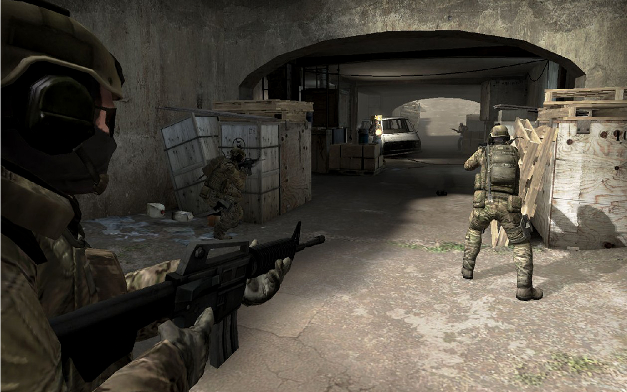 Game World: Counter-Strike: Global Offensive