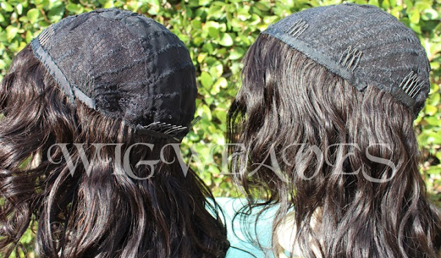 Custom U-Part Wigs for Mother and Daughter Duo
