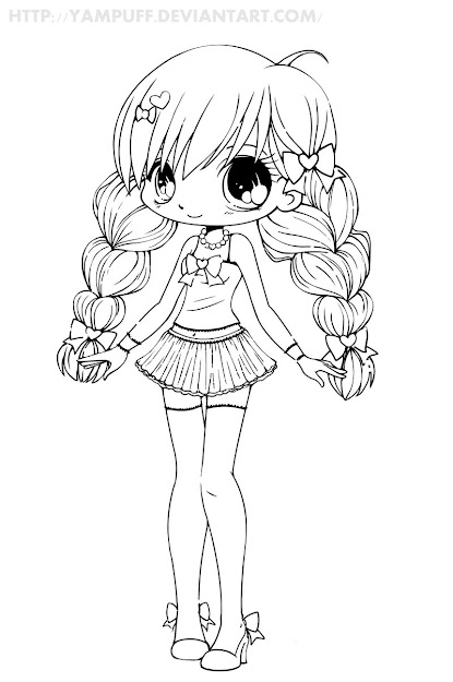 Chibi Coloring Pages  Cute Anime Coloring Pages  Coloring Pages   Pinterest  Coloring Pages Chibi And Cute Chibi