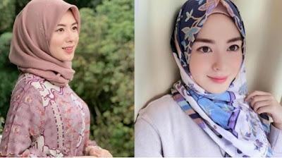Artis Korea yang Beragama Islam Ayana Moon
