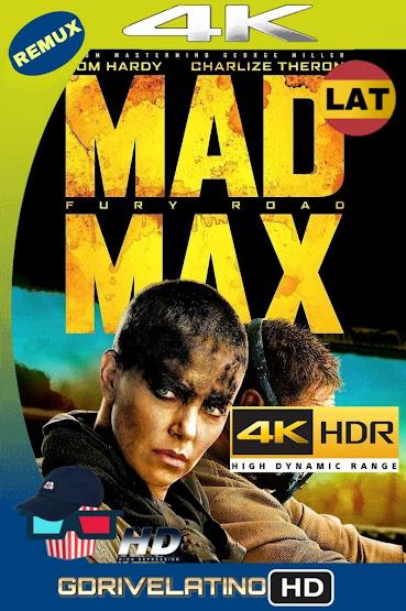 Mad Max: Furia En El Camino (2015) BDRemux 2160P 4K HDR Latino mkv