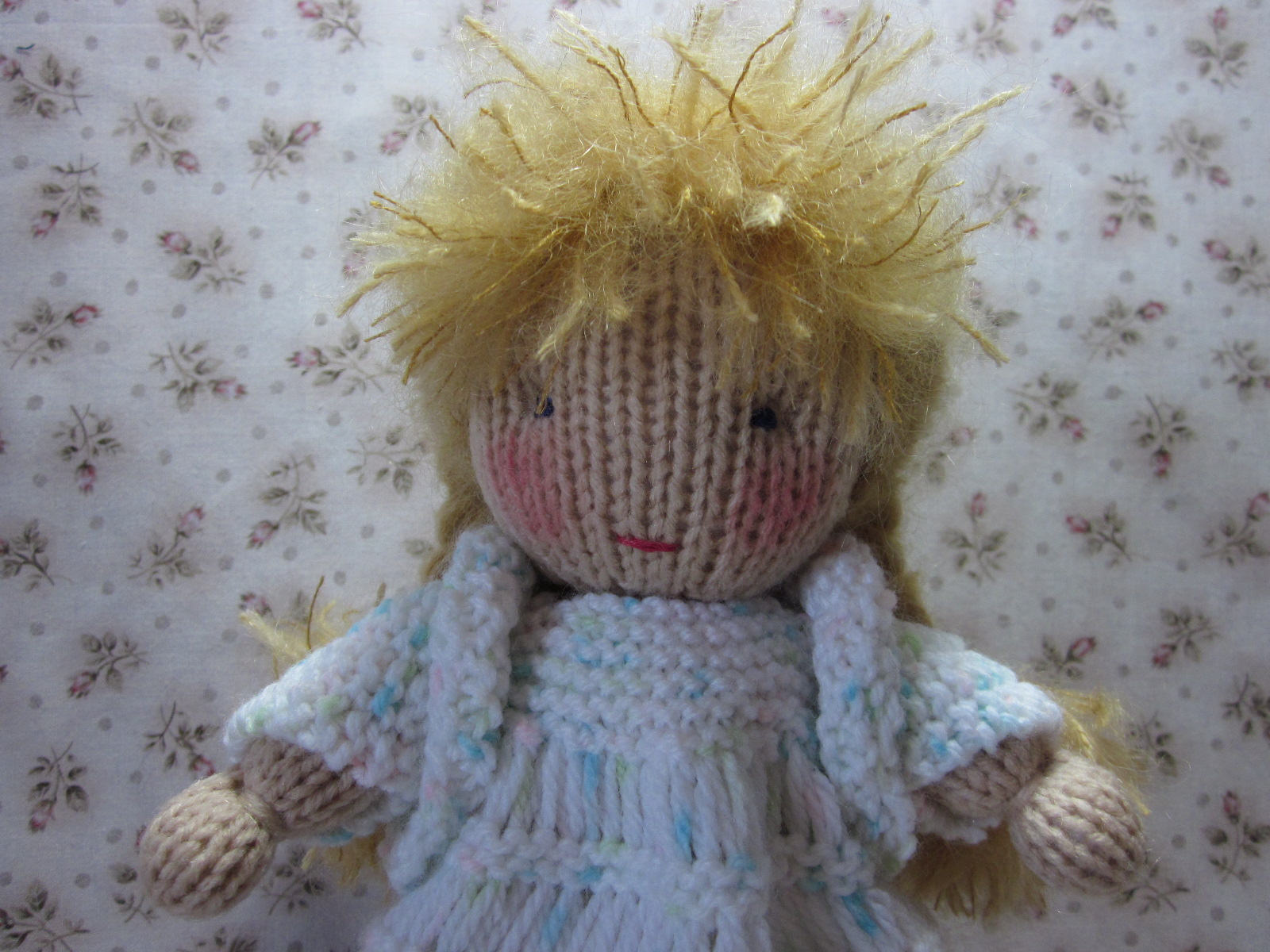 By Hook, By Hand: Virginia, a knit Waldorf style doll