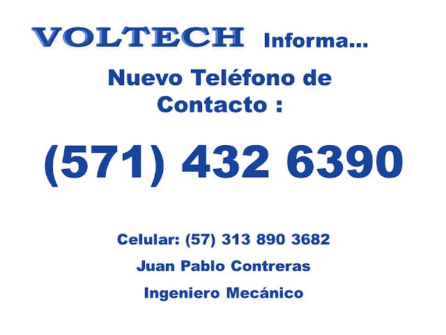 Voltech Teléfono de Contacto