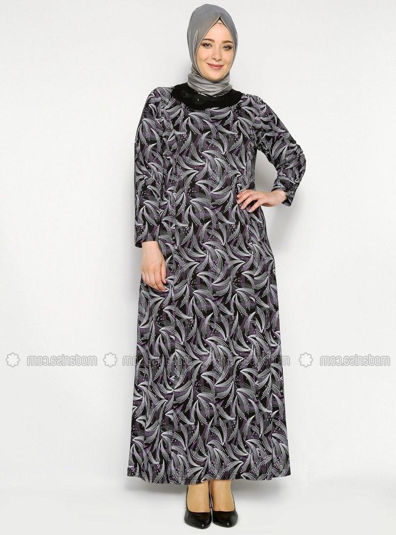 12 Model Baju Gamis Batik Pesta Kombinasi Untuk Orang