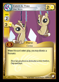 My Little Pony Calvin & Theo, Aw, Nuts Equestrian Odysseys CCG Card