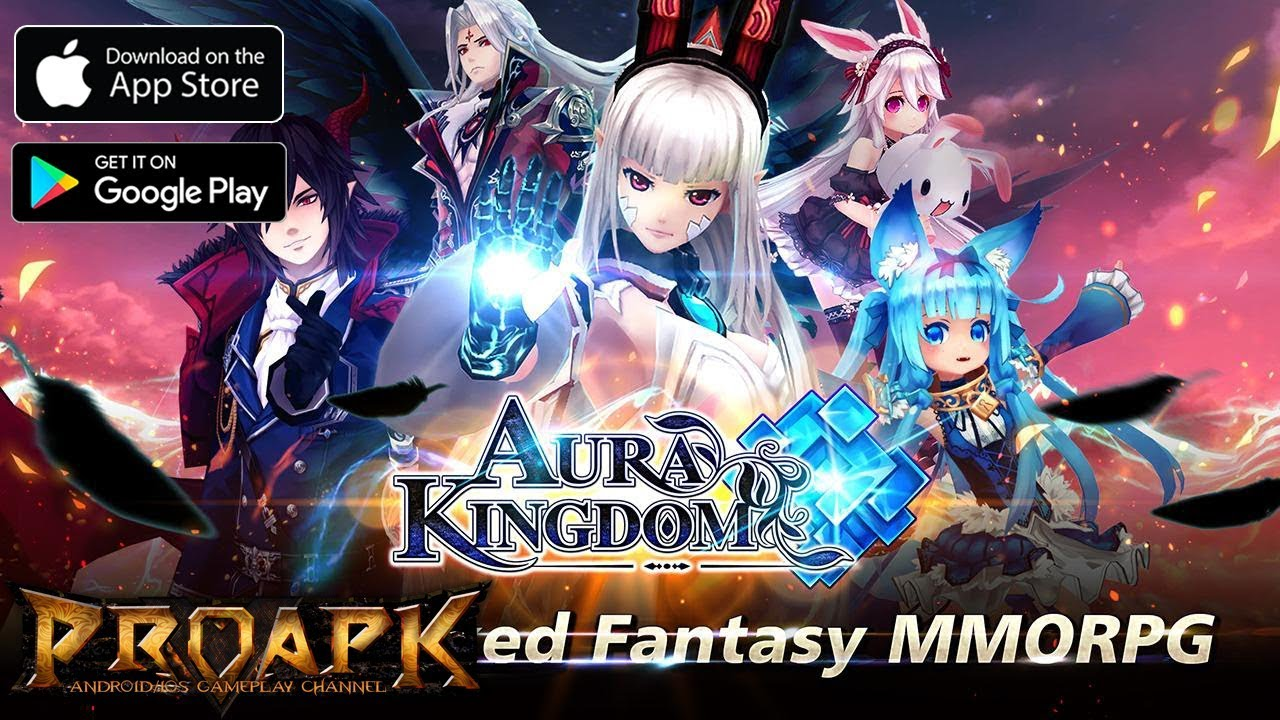 Aura Kingdom Mobile - Anime MMORPG has an official English