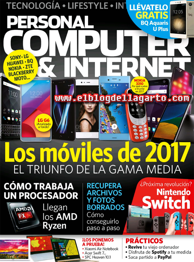 Personal Computer & Internet Abril 2017 PDF