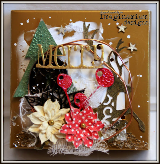 Christmas with Imaginarium Designs Chipboard.