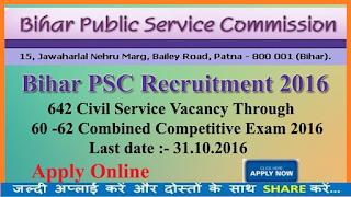 BPSC%2B2016 Online Form Govt Job on