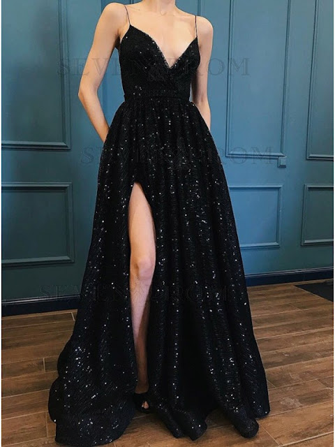 http://www.sevenprom.com/a-line-spaghetti-straps-black-sequined-eveing-dress-with-pockets-split.html