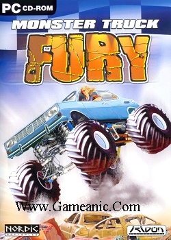 Monster Truck Fury Game Cover
