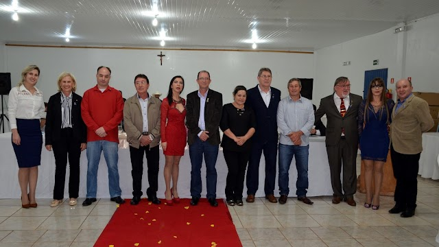 Posse da nova diretoria do Rotary Club de Roncador