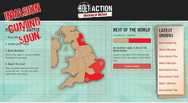 Bolt Action Summer Campaign: The Invasion of Britain