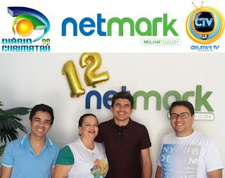 Net Mark, Diário do Curimataú e Creative TV firmam parceria na comunicação digita