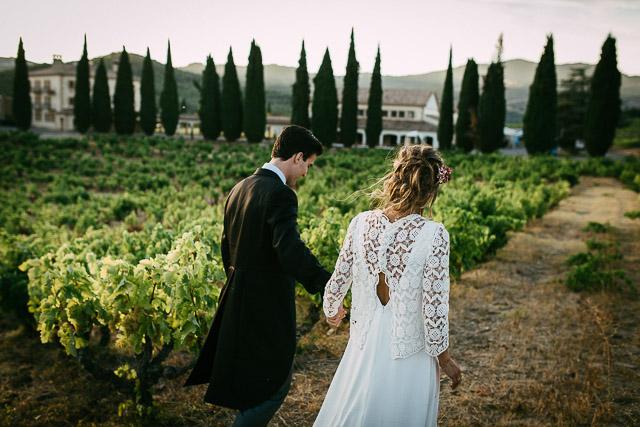 boda pamplona señorio sarría blog novia viñedos