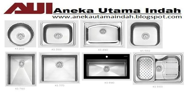 Spesifikasi Stainless Steel Kitchen Single Bowl Sink Tempat Cuci Piring 1 Lubang Type Ks 2100 Fitur 304 Material
