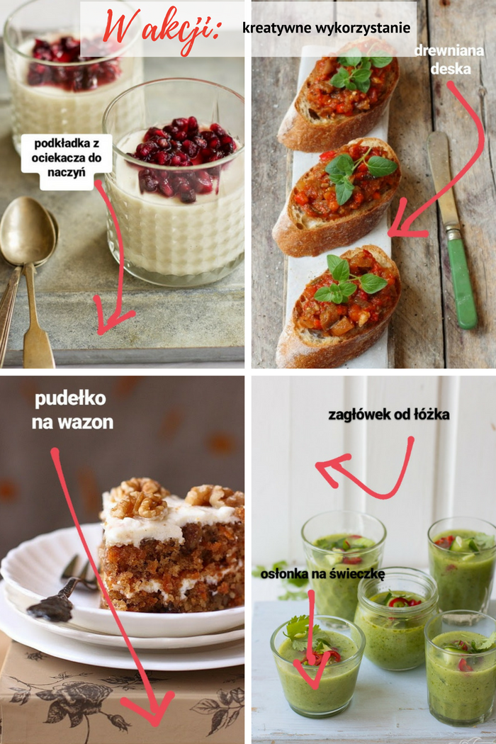 Bądź kreatywna! 5 sposobów na nieoczywiste wykorzystanie przedmiotów w fotografii kulinarnej