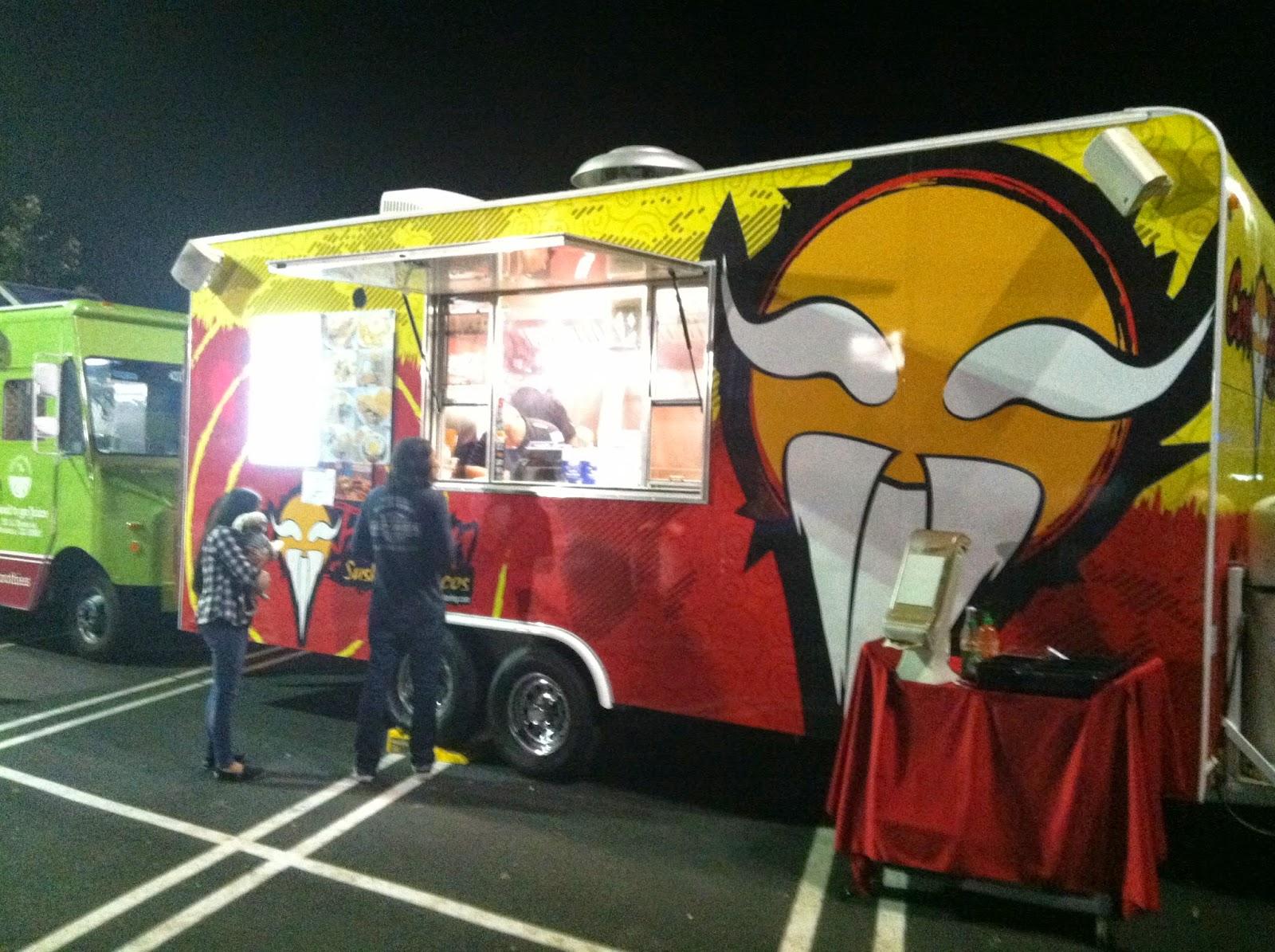 Rick's Ventura: ConFusion Sushi Roll Tacos Truck