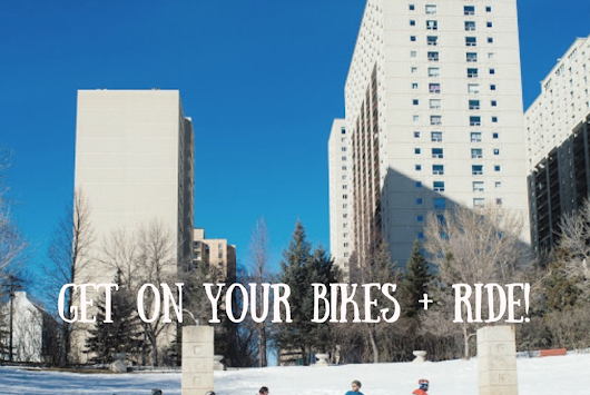 Get on your fat bikes + ride!
