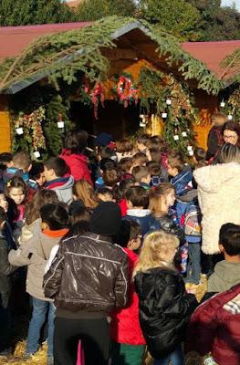 3.573 μαθητές και μαθήτριες θα επισκεφτούν το Χριστουγεννιάτικο Χωριό του Κόσμου στην Κατερίνη