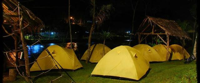 River Camping - Menginap + Rafting