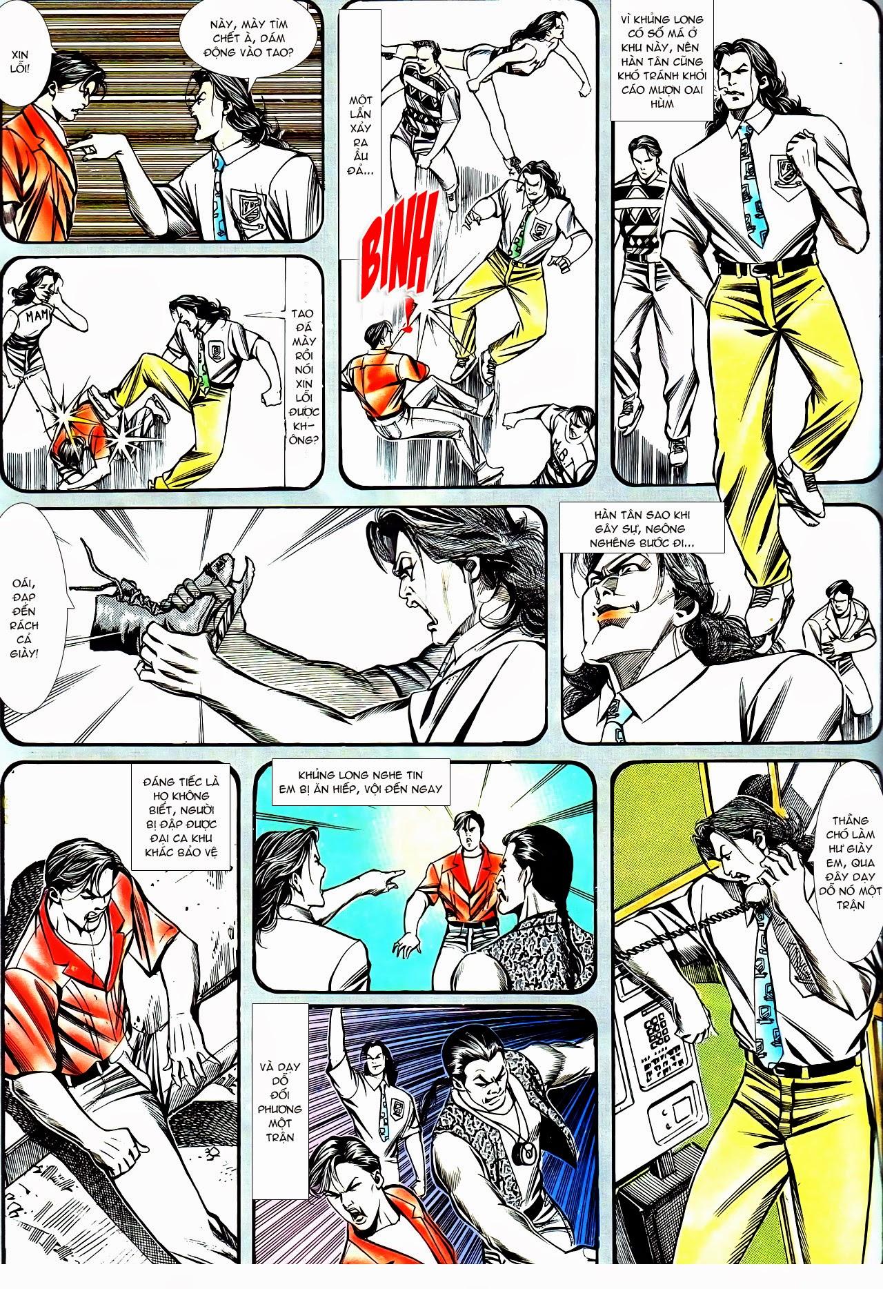 Người Trong Giang Hồ chapter 130: cô ta đến từ giang hồ trang 19