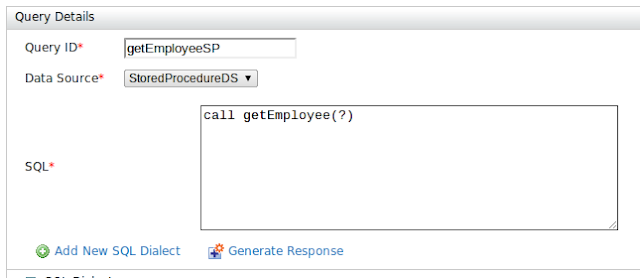 How to call MySQL stored procedures from WSO2 Data Services Server ·