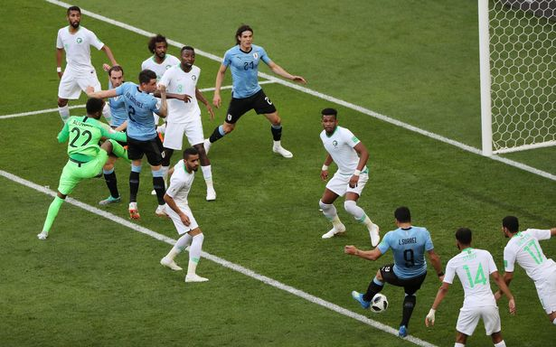 Hasil Uruguay vs Saudi Arabia Skor Akhir 1-0 | Fase Group A World Cup 2018
