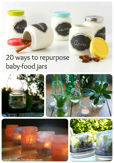 Repurpose Baby Food Jar Craziness The Refab Diaries