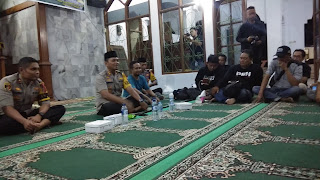 Buka Bersama Media, Kapolres Cirebon Minta Jaga Kondusifitas