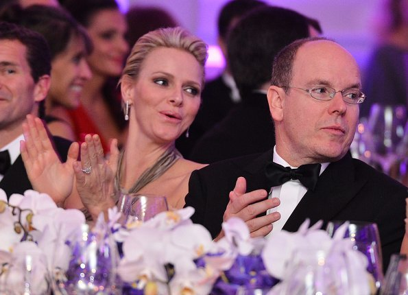 The luxurious Royal Suite was inaugurated by Prince Albert and Princess Charlene, and renamed the Grimaldi Suite