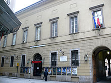 The Piccolo Teatro in Milan