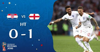 Kroasia vs Inggris  0-1 Video Gol Highlights