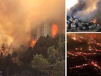 Setelah Larang Adzan, Terjadi Kebakaran Hebat di Israel, Netizen Sebut Terkena Azab