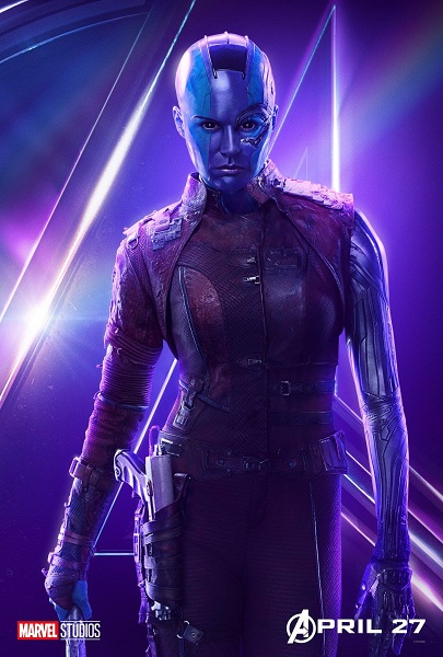 Avengers: Infinity War Nebula