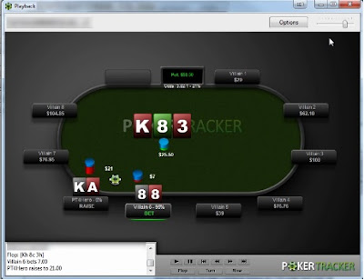 Poker Tracker 4 - Replayer