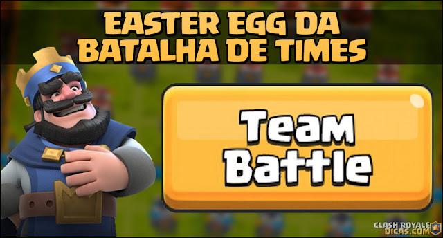 Easter egg sobre a Batalha de Times