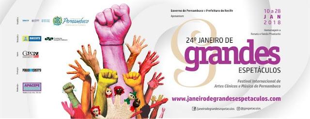 Festival Janeiro de Grandes Espetáculos em cartaz nos teatros da cidade