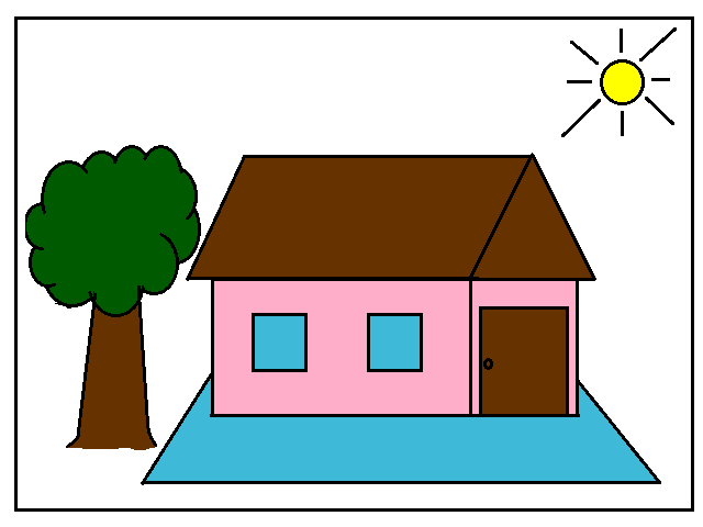 Gambar Rumah Tugas Anak Sd Rumah Joglo Limasan Work