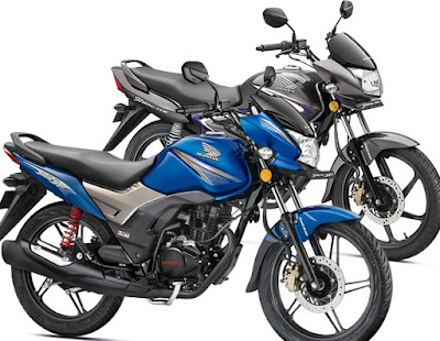 Honda CB Shine SP Black & Blue HD Picture