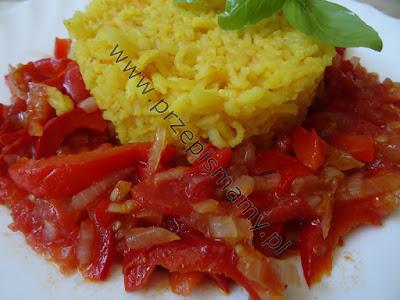 Leczo z ryżem