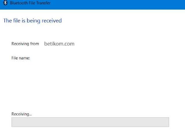 file diterima melalui bluetooth